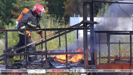 Более 30 препятствий пройдут спасатели на чемпионате Беларуси по многоборью под Гомелем