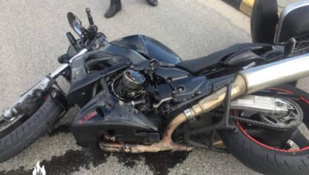 Первое в этом году ДТП с участием мотоцикла произошло в Гомеле