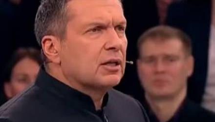 """""""Пошёл вон, упырь нацистский!"""": Соловьёв выгнал из студии бывшего украинского депутата (видео)"""