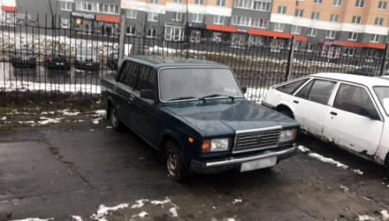 Угон машины в Мозыре на спор закончился дорожно-транспортным происшествием