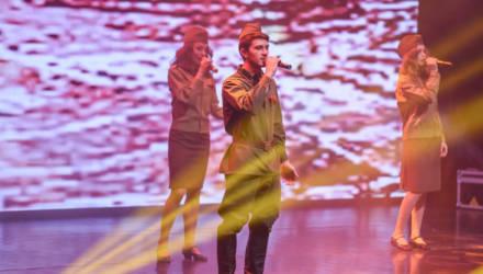 Концерт ко Дню защитников Отечества прошёл в Гомеле