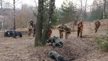 Из Рогачёва выбили окопавшихся немцев. Фото- и видеорепортаж с реконструкции боя
