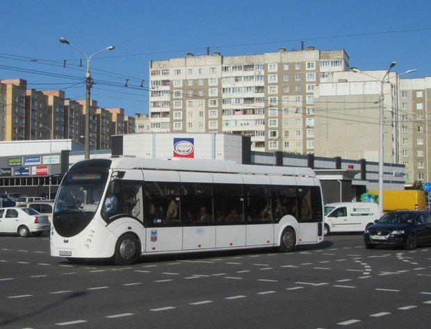 В Гомель приедет первый гибридный автобус A4202K Vitovt Hybrid