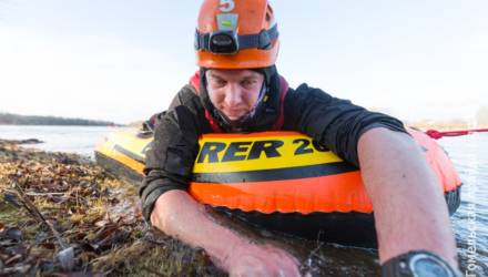 И в костёр, и через реку: под Гомелем проходит чемпионат Беларуси по многоборью спасателей