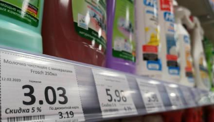 Гомельчанка предлагает переформатировать ценники в некоторых сетевых магазинах