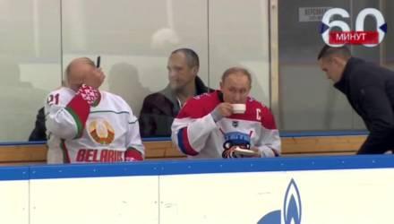 Видео расчесывания Лукашенко после матча с Путиным стало хитом в Сети