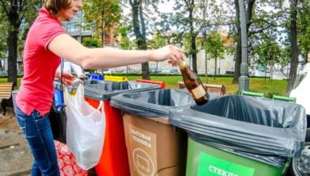 «60 процентов сырья, остальное – трава и памперсы». Гомельчан уговаривают сортировать отходы?