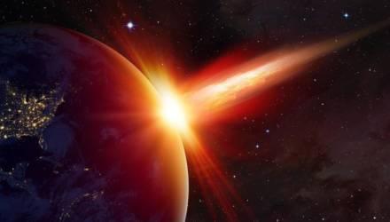 День до конца света. К Земле стремительно приближается гигантский астероид