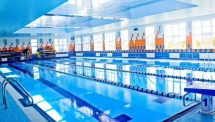 Реконструкция бассейна в Новобелицком районе Гомеля завершится в июле нынешнего года