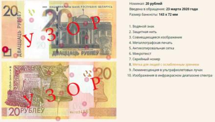 В Беларуси ввели в обращение новые банкноты. Как они выглядят