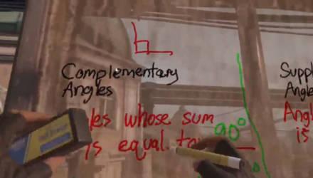 Преподаватель из США провел урок по геометрии для седьмого класса в VR-игре Half-Life: Alyx