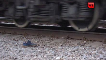 В Гомеле мужчина попал под поезд и остался без ноги