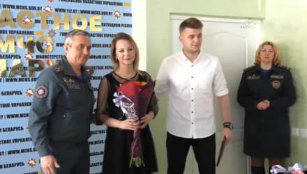 """В Гомеле наградили победителей конкурса """"Спасатель года"""""""