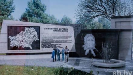 В Гомельской области на месте деревни, где гитлеровцы уничтожили 1758 человек, строят мемориал