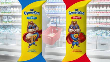 В Беларуси выпустили сырки в глазури со вкусами клубники и пломбира
