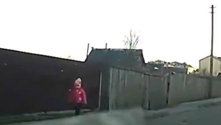 В Калинковичах инспекторы ГАИ помогли потерявшейся 3-летней девочке найти папу