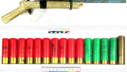У жителя Чечерского района изъяли самодельный пистолет, порох и патроны