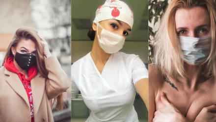 Профилактика плюс самовыражение: обзор Instagram гомельчан в антикоронавирусных масках