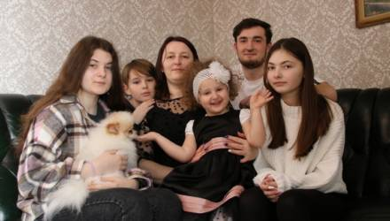Многодетная мама Алла Козырева из Гомельского района: Большая семья - это море любви и доброты!