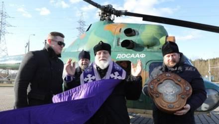 Минск окропили с неба святой водой для защиты от коронавируса