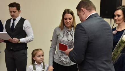 Жительнице Советского района Гомеля вручили орден Матери