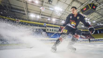 Открытие сезона в гомельском хоккее – Нассер Субхи: «В плей-офф мы бились до конца»