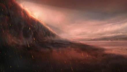 Астрономы обнаружили экзопланету, на которой идёт дождь из жидкого металла