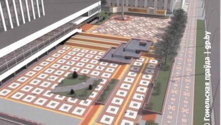 В УКСе Гомеля пока не могут ответить, как потратят 1,5 млн, выделенные на благоустройство площадки и флагшток