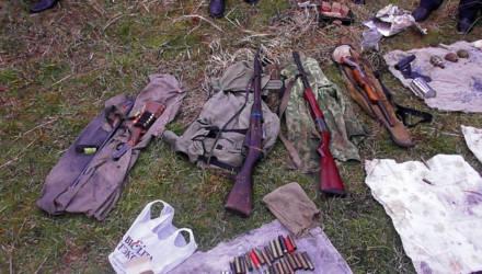 На Гомельщине у пенсионера МВД нашли склад оружия