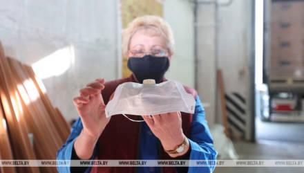 Гомельский филиал EPAM передал 10 тысяч фильтрующих защитных масок врачам