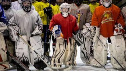 «Рыси» на льду. В Гомеле действует единственная в стране школа хоккейных вратарей