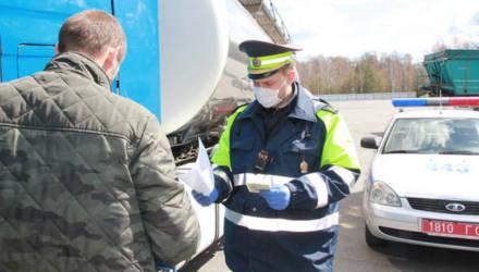Что показала проверка транзитных фур на дорогах в Калинковическом районе