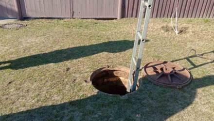 В Речице спасли мужчину из водопроводного колодца