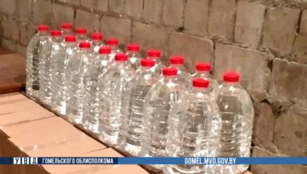 В Добрушском районе пресечена перевозка 500 литров спиртосодержащей жидкости