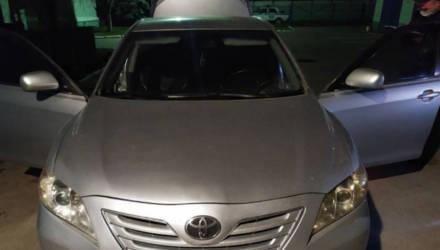 Рекорд побит. Недалеко от Гомеля задержали водителя Toyota Camry, который под завязку загрузил легковушку спиртом