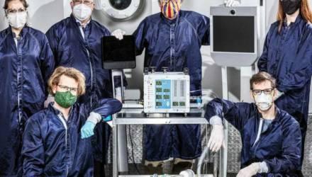 Инженеры NASA за 37 дней разработали рабочий аппарат ИВЛ. Он дешевле и легче в производстве, чем обычные