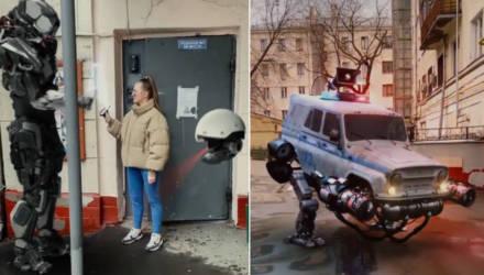 Московская cтудия моушн-дизайна создаёт футуристичные видео о режиме самоизоляции и цифровых пропусках