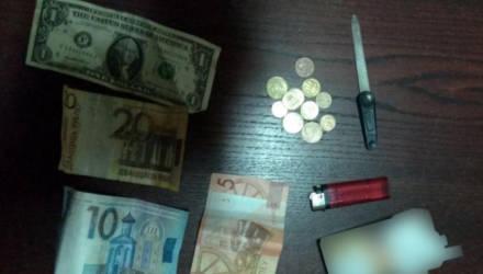В Мозыре женщина зашла в открытую дверь чужой квартиры, похитила деньги и спряталась от милиции в кустах