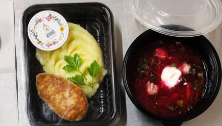 Гомельское предприятие «Ирина-Сервис» начало готовить бесплатные горячие обеды для врачей двух больниц