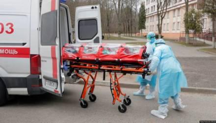 В Витебске ещё одна смерть от коронавируса: 30 марта там умерла 73-летняя женщина