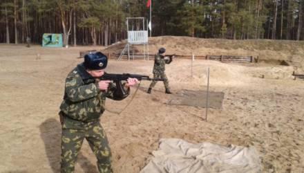 Гомельская погрангруппа предупредила о проведении стрельб в апреле