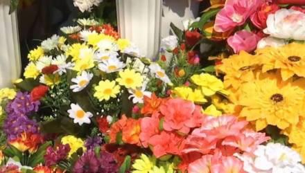 Откажитесь от пластиковых цветов на кладбище: Минприроды обращается к белорусам