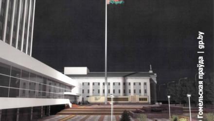 Обсуждению не подлежит. Гомельские власти ответили на петицию горожан против флагштока за 1,5 млн