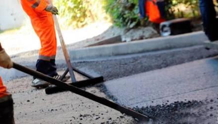 Ремонт дорожного покрытия пройдет на 80 улицах и 100 дворовых территорий в Гомеле в 2020 году