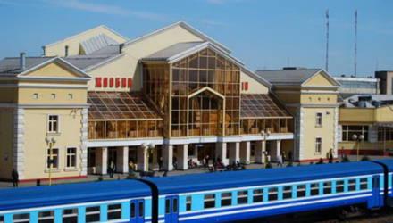 Люди в специальных костюмах на вокзале Жлобина. Что произошло?