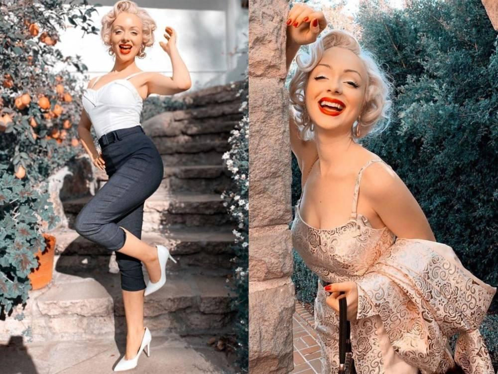 Мэрилин Монро жива, и ей до сих пор 25. Знаменитый дом купила её абсолютная копия, поражающая красотой