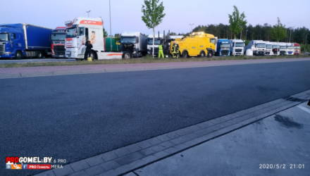 Пьяный белорус в Германии задавил коллегу-дальнобойщика из Украины