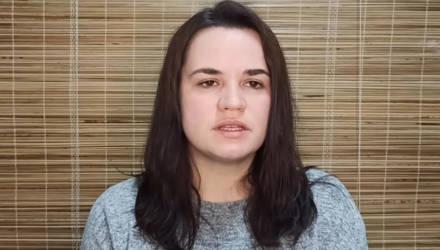 Тихановская выступила с заявлением по поводу задержания мужа: «Пикет носил законный и мирный характер»