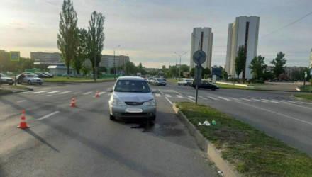 В Гомеле женщина-водитель сбила на пешеходном переходе девушку вдвое её младше