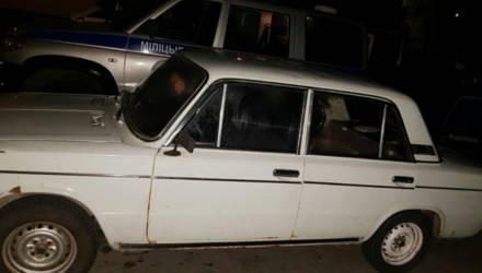 """В Гомеле сотрудники ГАИ задержали девушку-водителя, которая с двумя мужчинами перевозила в """"Жигулях"""" двух телят"""